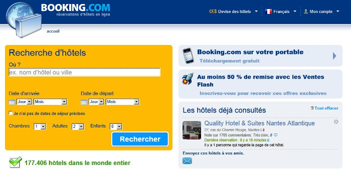 mode de fonctionnement de booking.com
