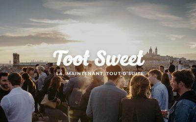 Toot Sweet: l'application pour sortir à Paris