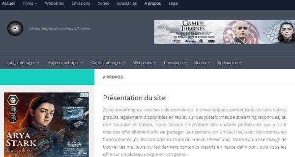 zone-streaming.fr Parmis les meilleurs sites de streaming gratuit des films en Français